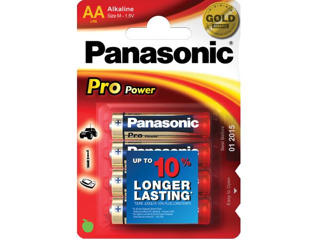 Panasonic Power Max 3 Batteri Mignon Cell 4 stykker